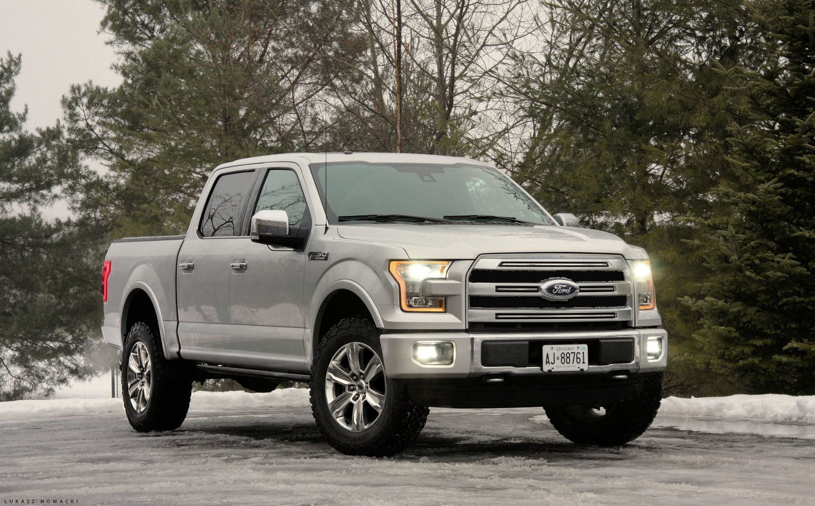 I like every thing about the lariat sport pkg except the blk gray grill and lower bumper i plan on buying a platinum grill and bumper and change it out on