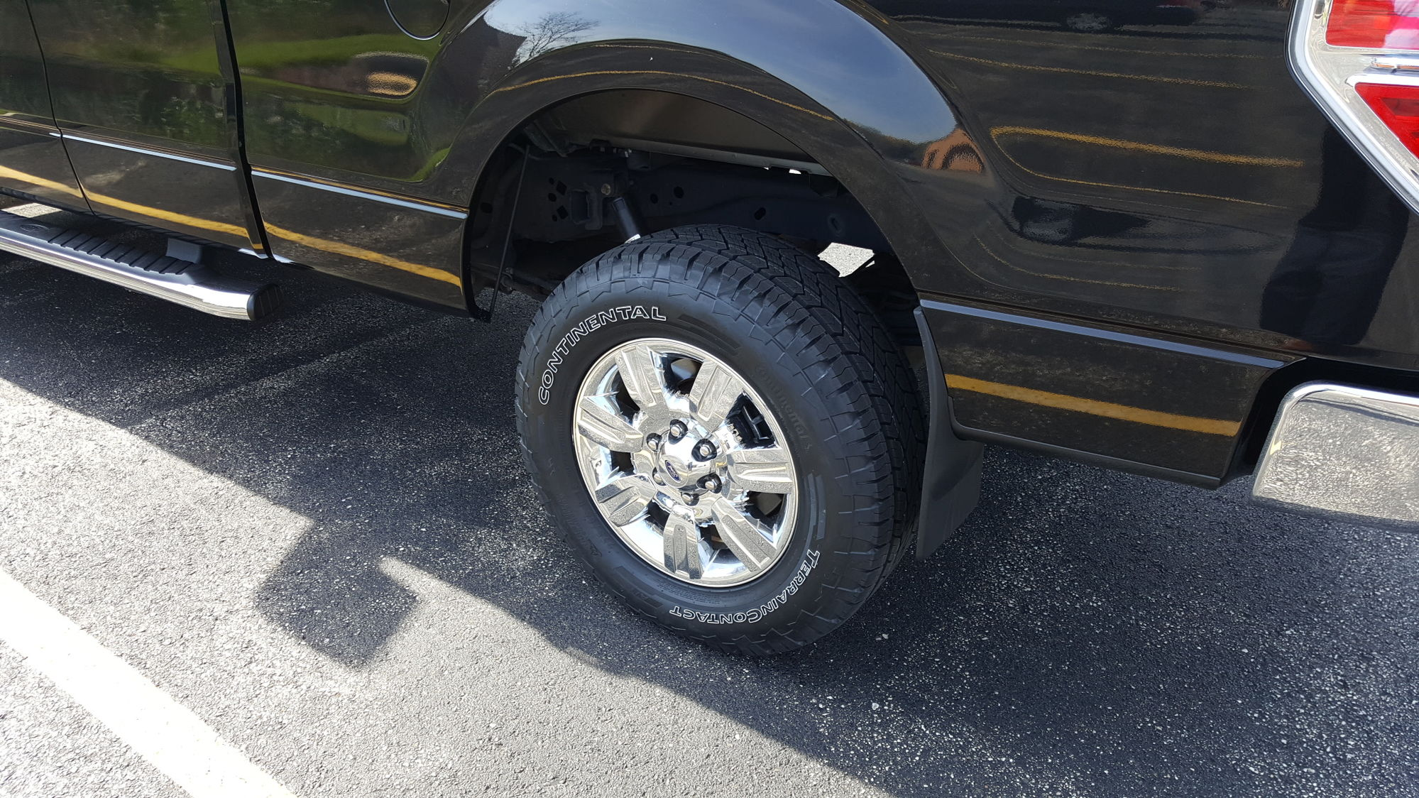 New Shoes Continental Terraincontact A T Pics Ford