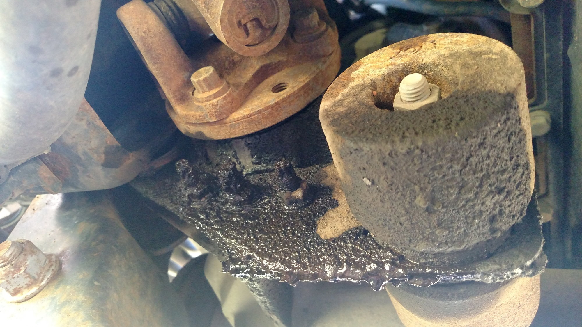 2007 F150 HD Front Differential Leak - Ford F150 Forum
