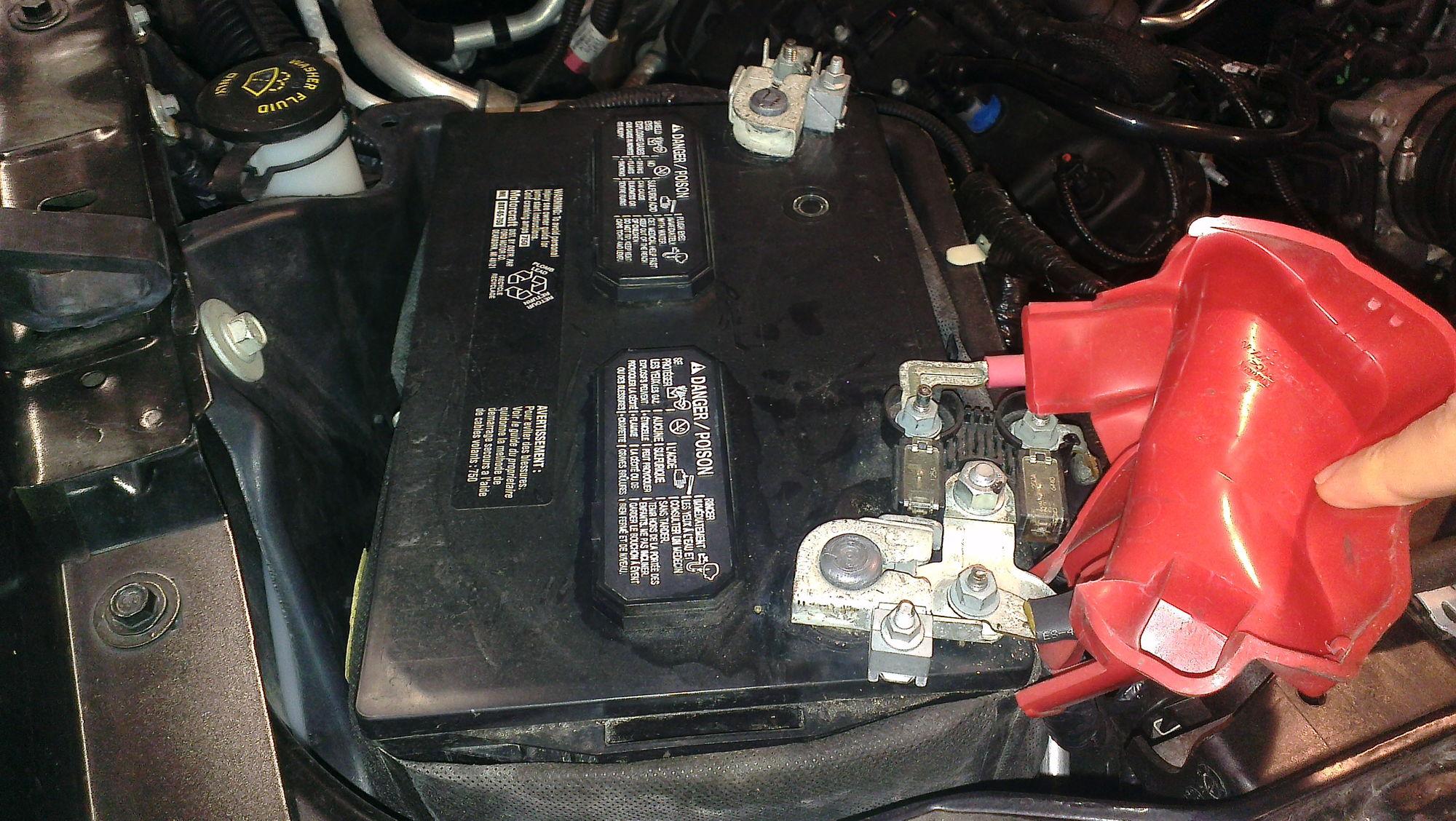2013 Xlt Changing Battery Any Gotcha S Ford F150