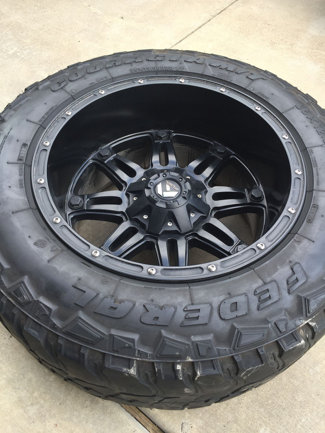 2004 Ford F150 Bolt Pattern >> Texas Fuel Hostage 20x12 Matte Black - Ford F150 Forum - Community of Ford Truck Fans