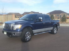 Leveled with power tow mirrors.