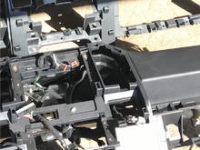 Your referring to the connections from the dash harness to the console sun harness(bottom of pic) These do not fit for the floor shifter harness?