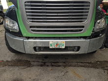 Freightliner custom headlights installed today. Ripped off the Cadillac deville