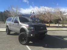 My truck and I flexing