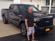 Proud owner of a 2015 F-150 this was the day I brought her home 9-19-2015.