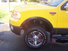 Red Caliper paint