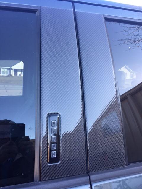 2016 F150 Black Door Side Paneling Swirl Mark Removal