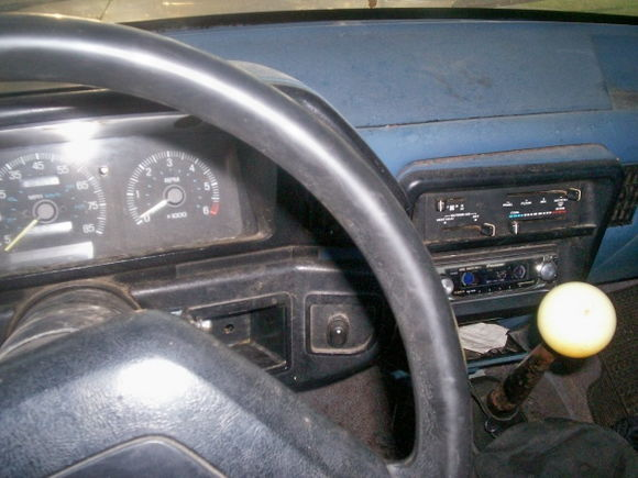 Interior from drivers side