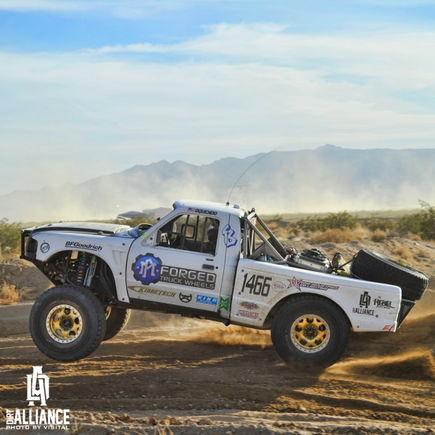 Ford Ranger Racing Through The Terrain
