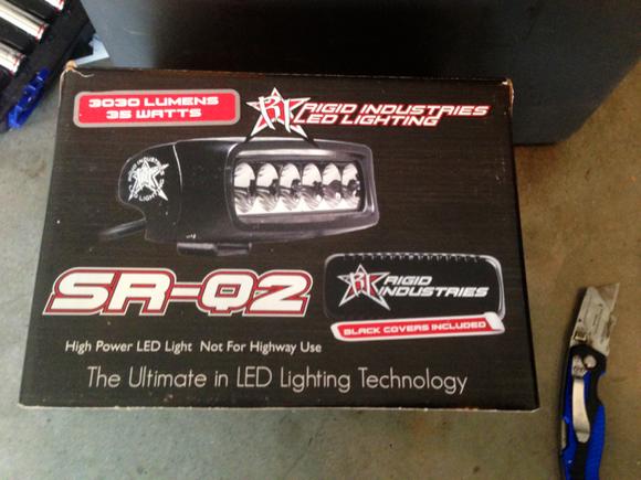 SR-Q2 Diffused back up lights