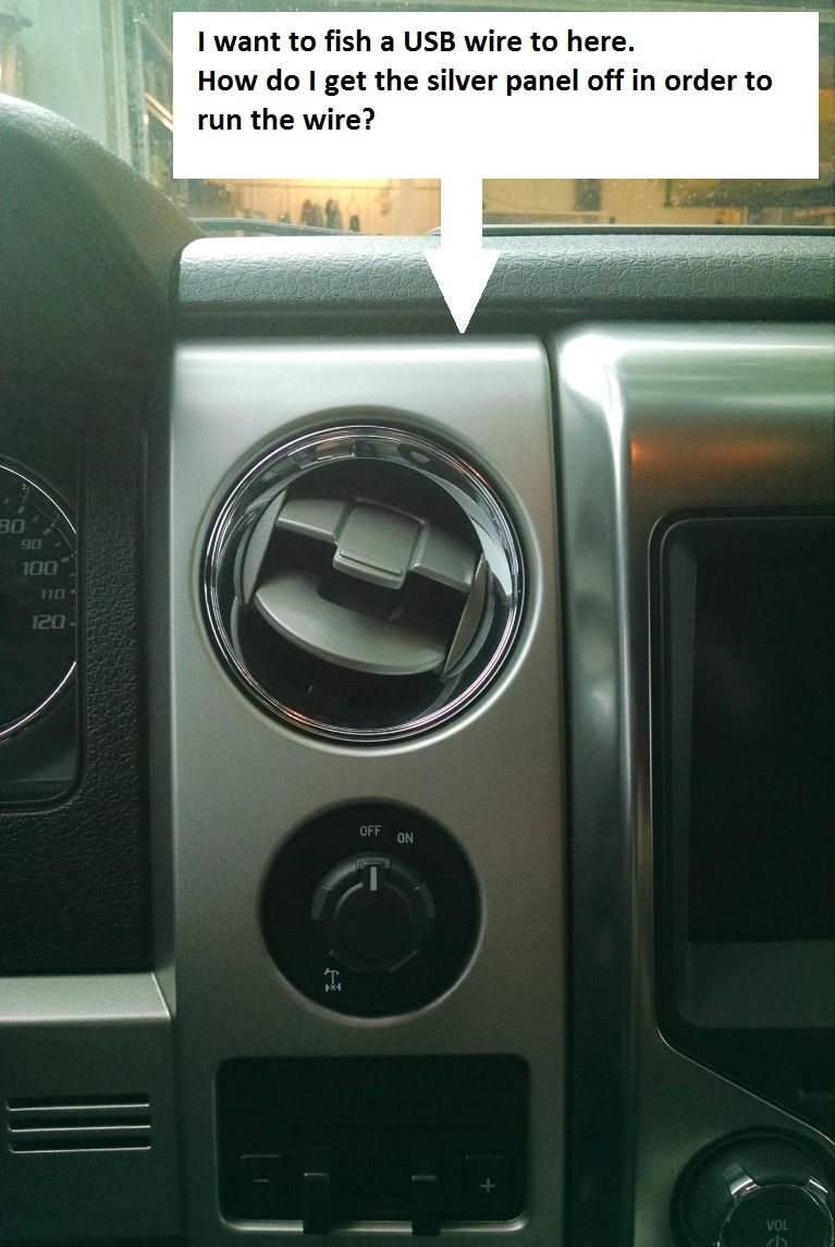 How do i remove this dash panel ford f150 forum for 05 f150 door panel removal