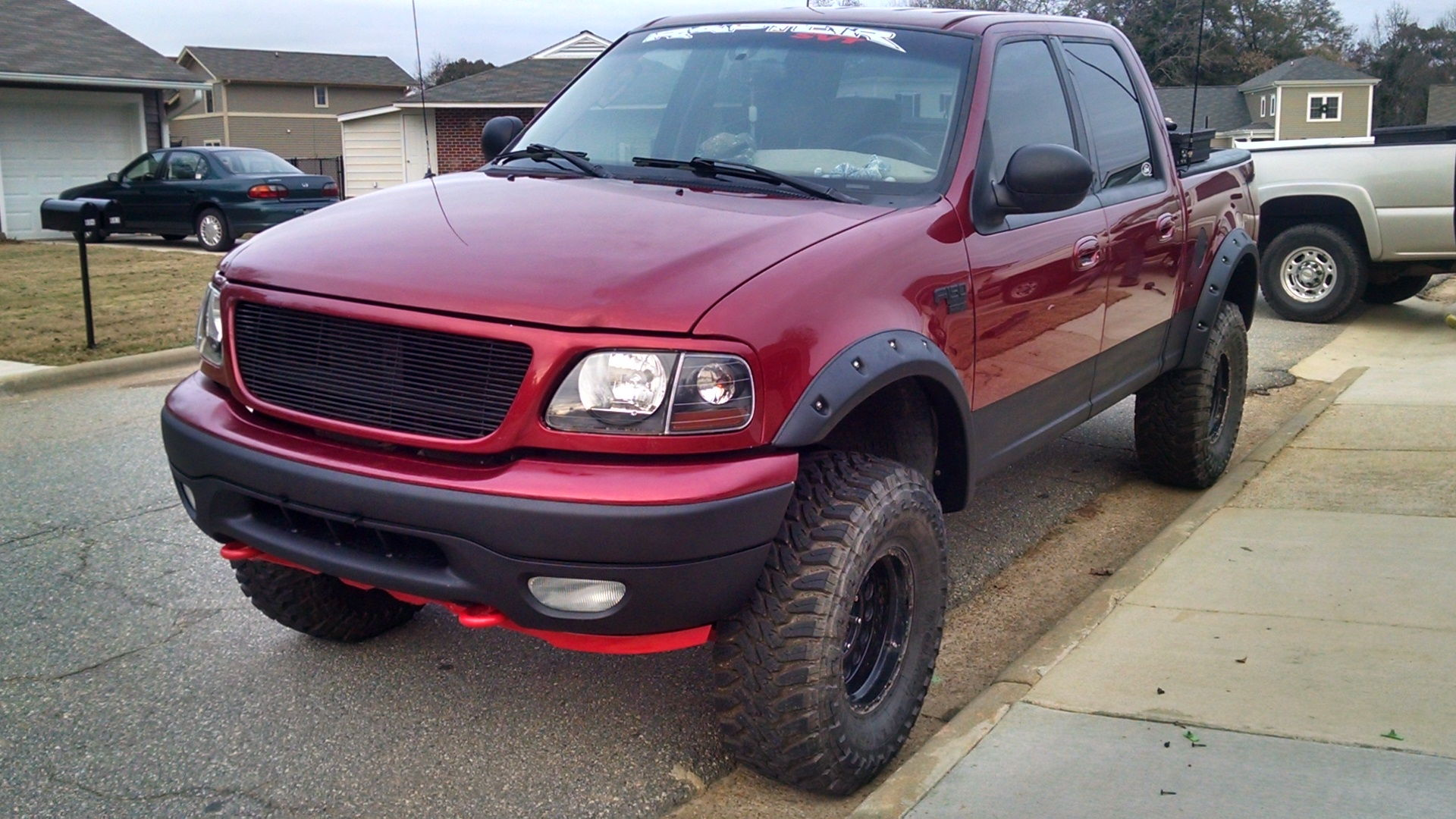 463799 2010 White Lariat New Rims Tires moreover Car Battery Dead Overnight also 1394082 Bed Bolts likewise Forum posts likewise 179139 2004 Fx4 Lobo Mexico Edition. on 2003 f150 starter location