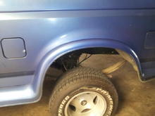 Suspension work/gear change!