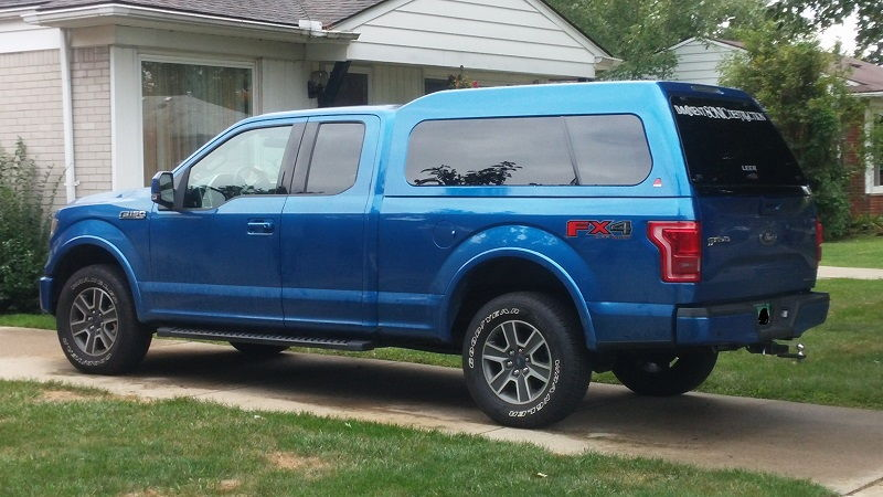 My New Leer 180xl On My 2015 F150online Forums