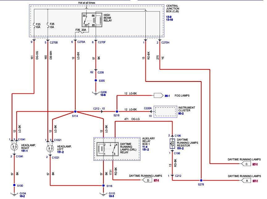 Low beams not working, high beams work - F150online Forums