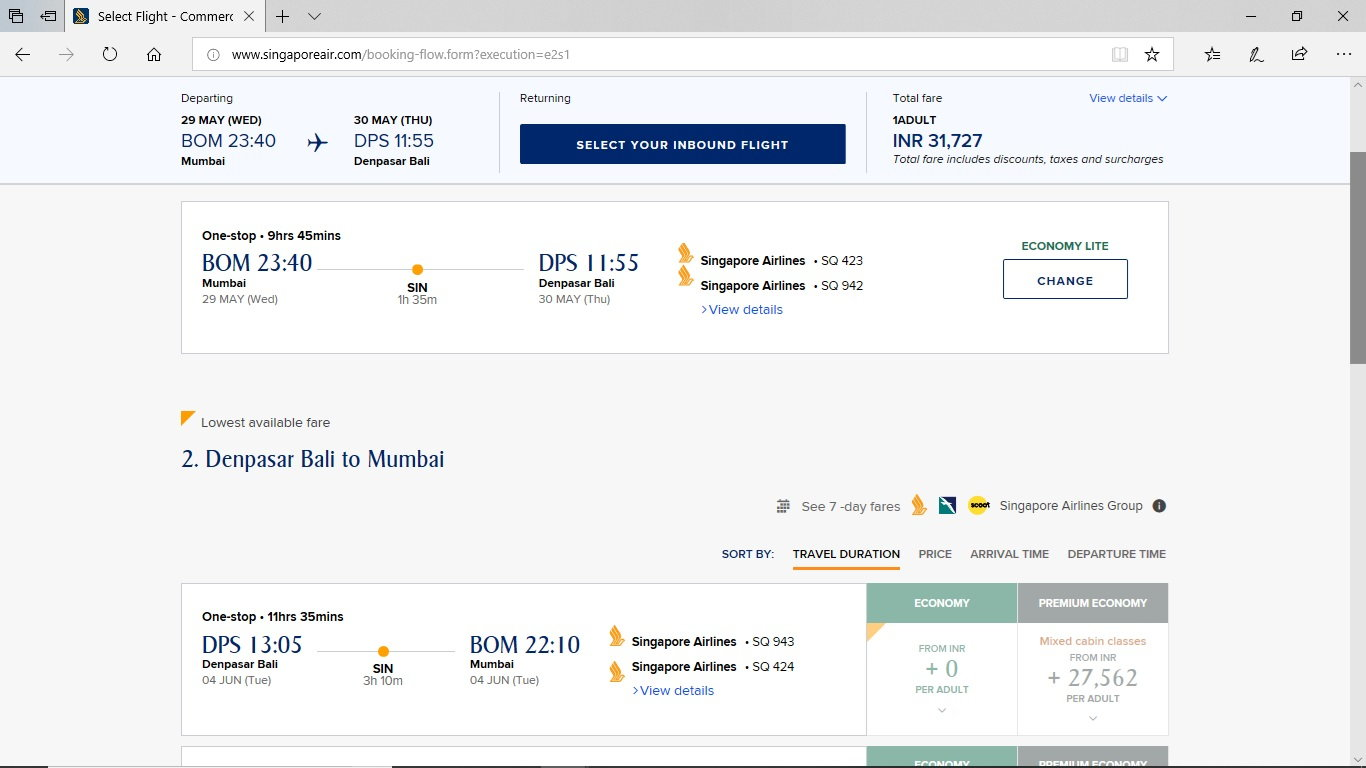 Flights showing prices but greyed out - FlyerTalk Forums