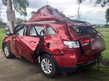 US NEWS FLA SUV EXPLOSION OS