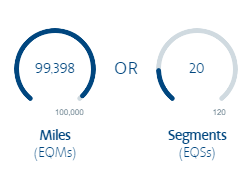 Any Way To See Eqms To Be Earned On Existing Reservation