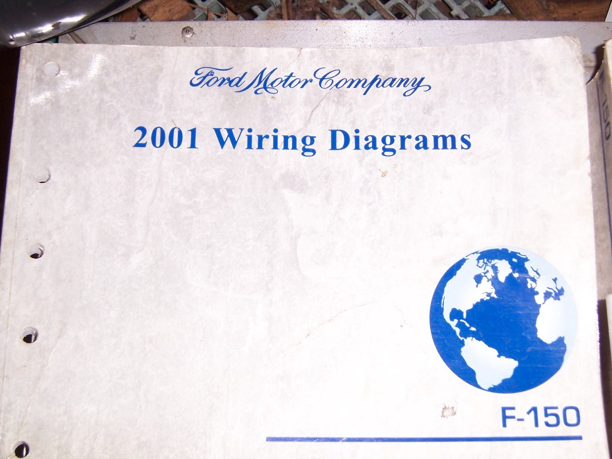 For Sale 2001 F150 Shop Manuals  Wiring Diagram And Owners Manual