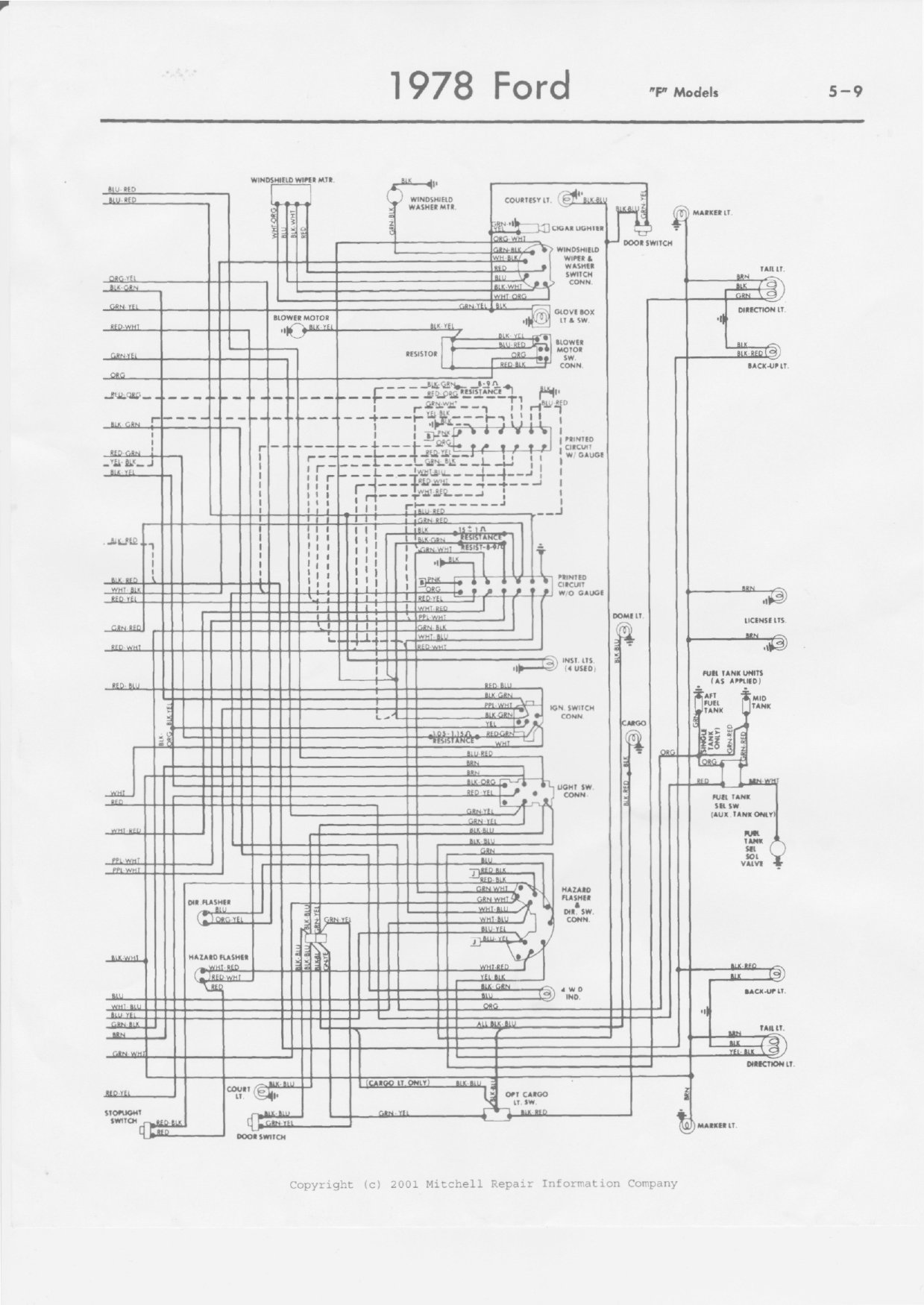 1979 F150 Wiring Steering Column