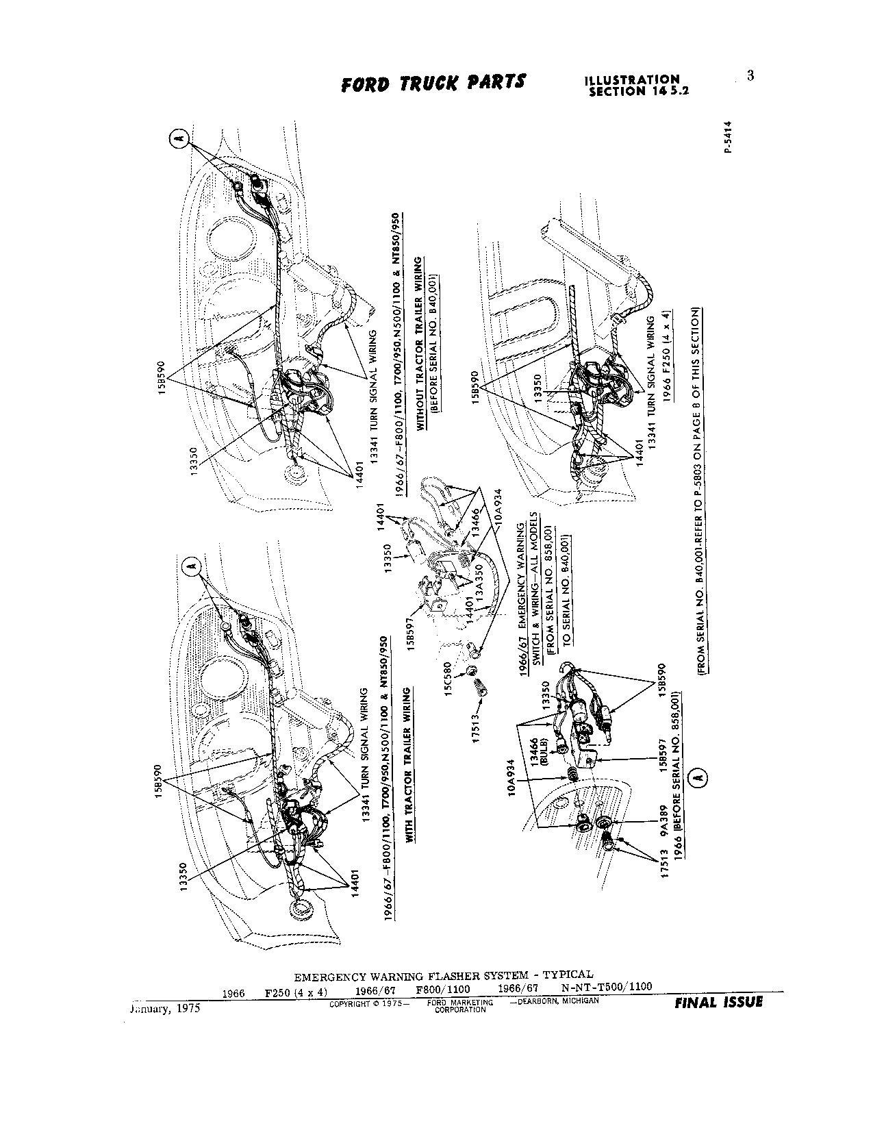 41 Ford And Turn Signal Wiring Trusted Schematics Diagram 1957 Jeep 3 Wire Flasher Relay Location Truck Enthusiasts Forums Basic 4