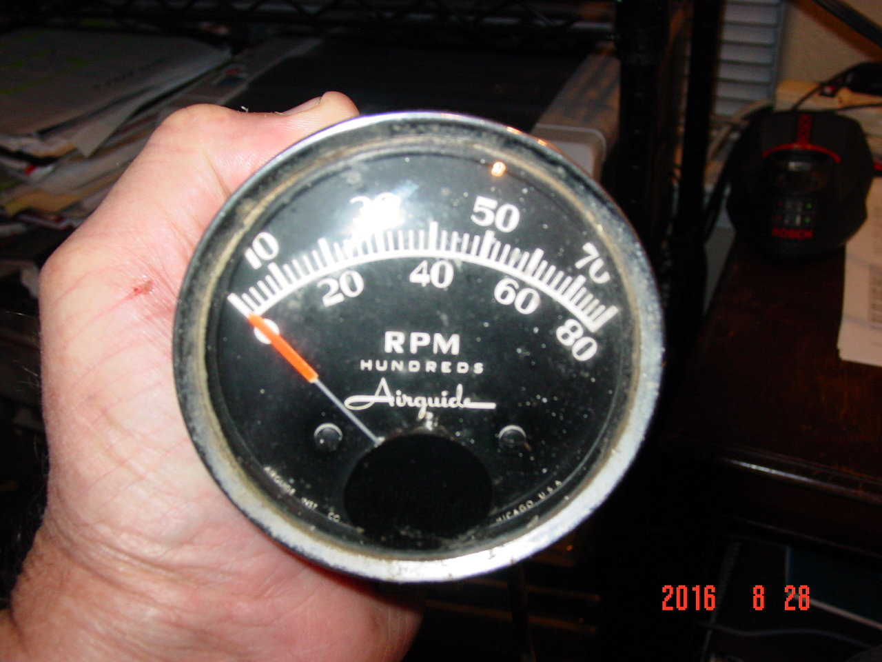 Anyone using an Airguide Tach? - Ford Truck Enthusiasts Forums on