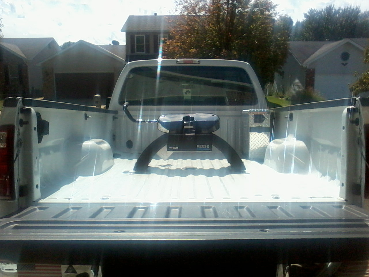 62 Gas Towing New 5th Wheel Report Ford Truck Enthusiasts Forums 2012 F250 Fifth Trailer Plug Of Our Purchase Being Towed By F350 4x4 Super Cab Long Bed W 430 Rear Specifications Brochure Can Tow 15000 Lb