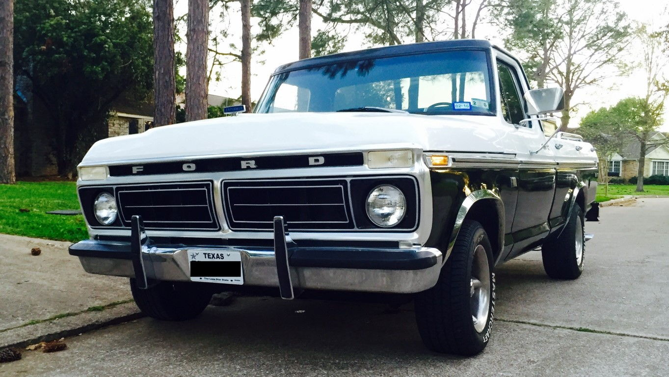 1976 f100 swb with a new engine setup and lots of parts houston area https houston craigslist org cto 6203433348 html