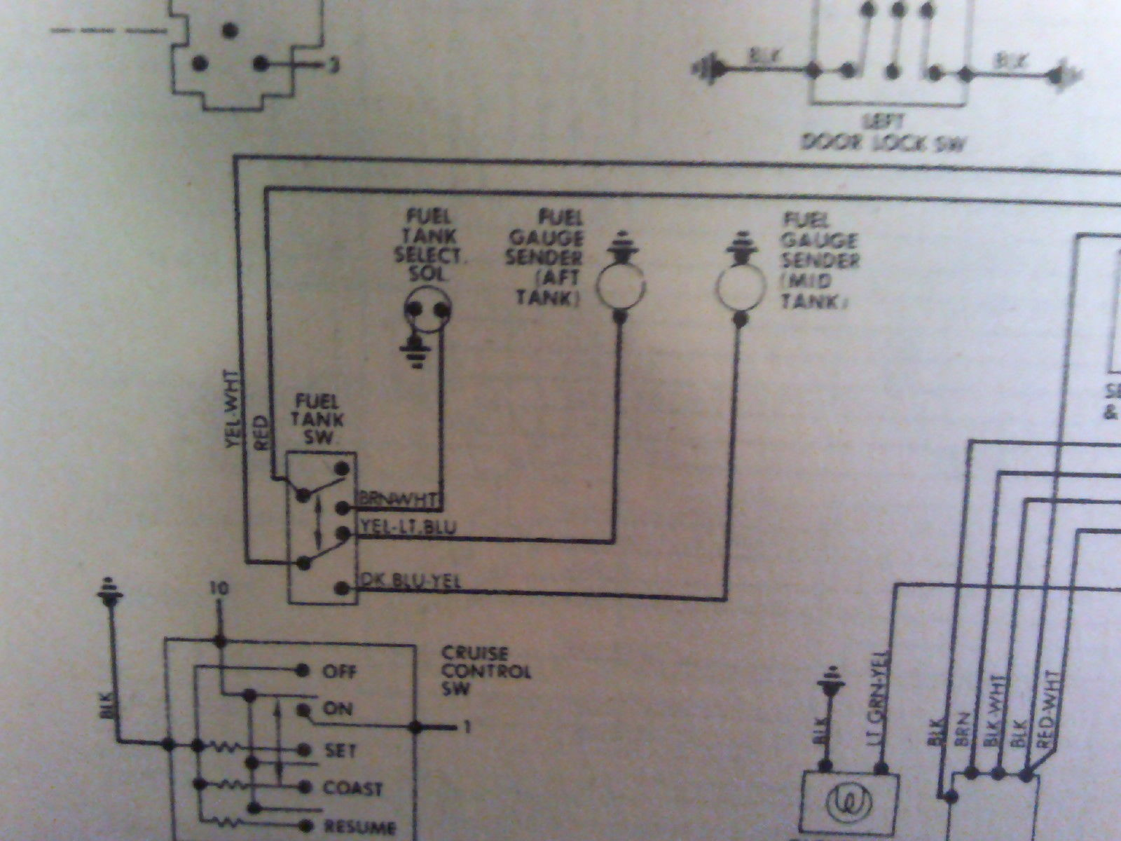 82 f150 dual tank wiring diagram? ford truck enthusiasts forums Dual Fuel Wiring Diagram this is what i got the yellow and white wire goes to the gauge on the dash, red is power when key is on dual fuel wiring diagram