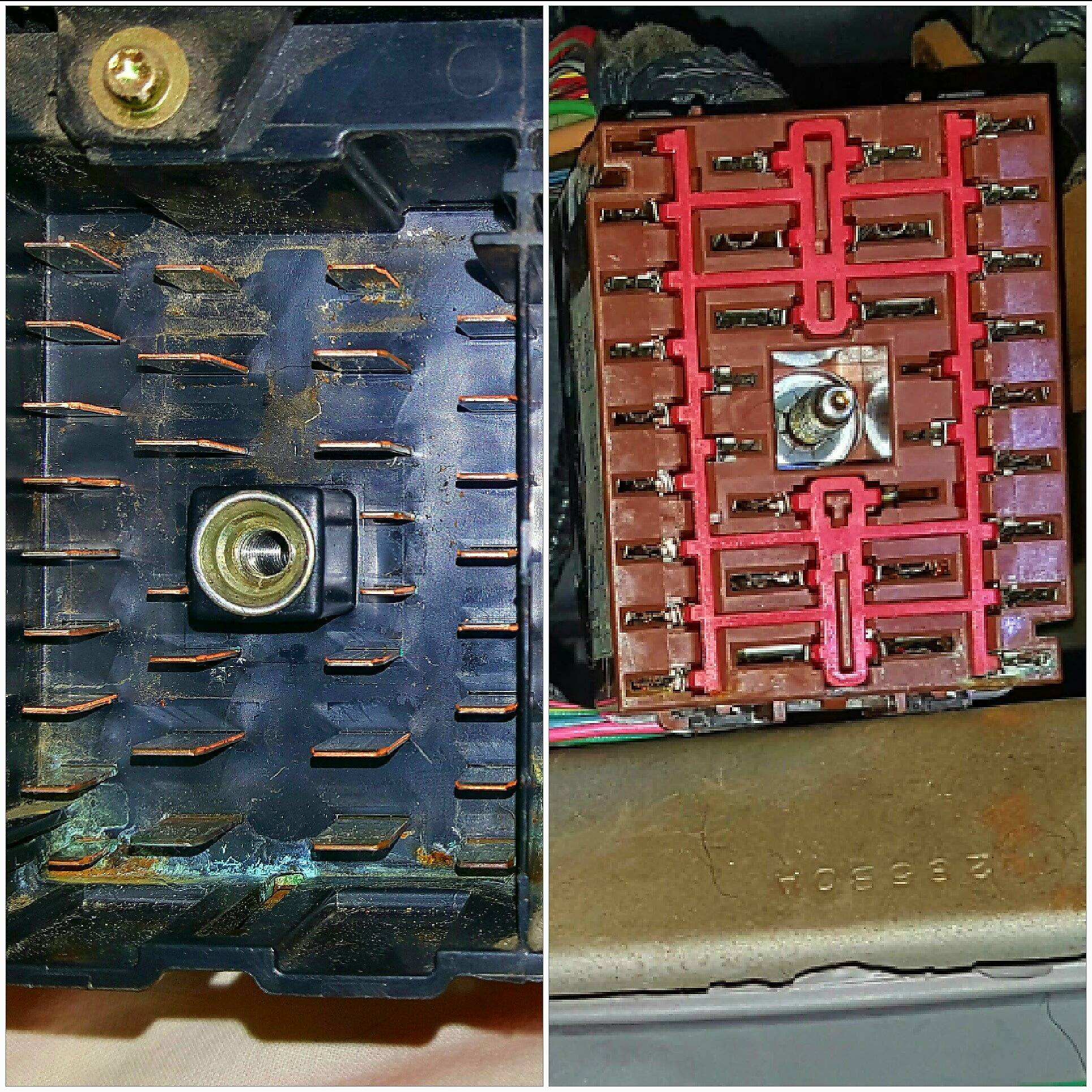 My Diy Story Excursion Fuse Box Gem Disassemble Clean Reinstall Ford For Sale To Tell You The Truth I Really Wasnt Looking Forward Disassembling Entire And Was Hoping By Simply Cleaning Just Prongs Their