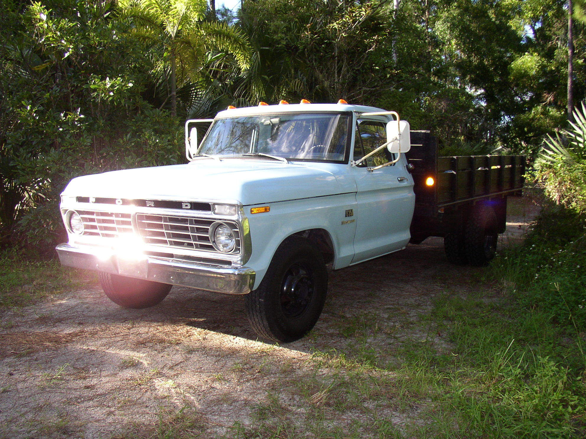 Time Capsule 1973 Custom F 350 Dually Flatbed Bed Ford Truck Enthusiasts Forums