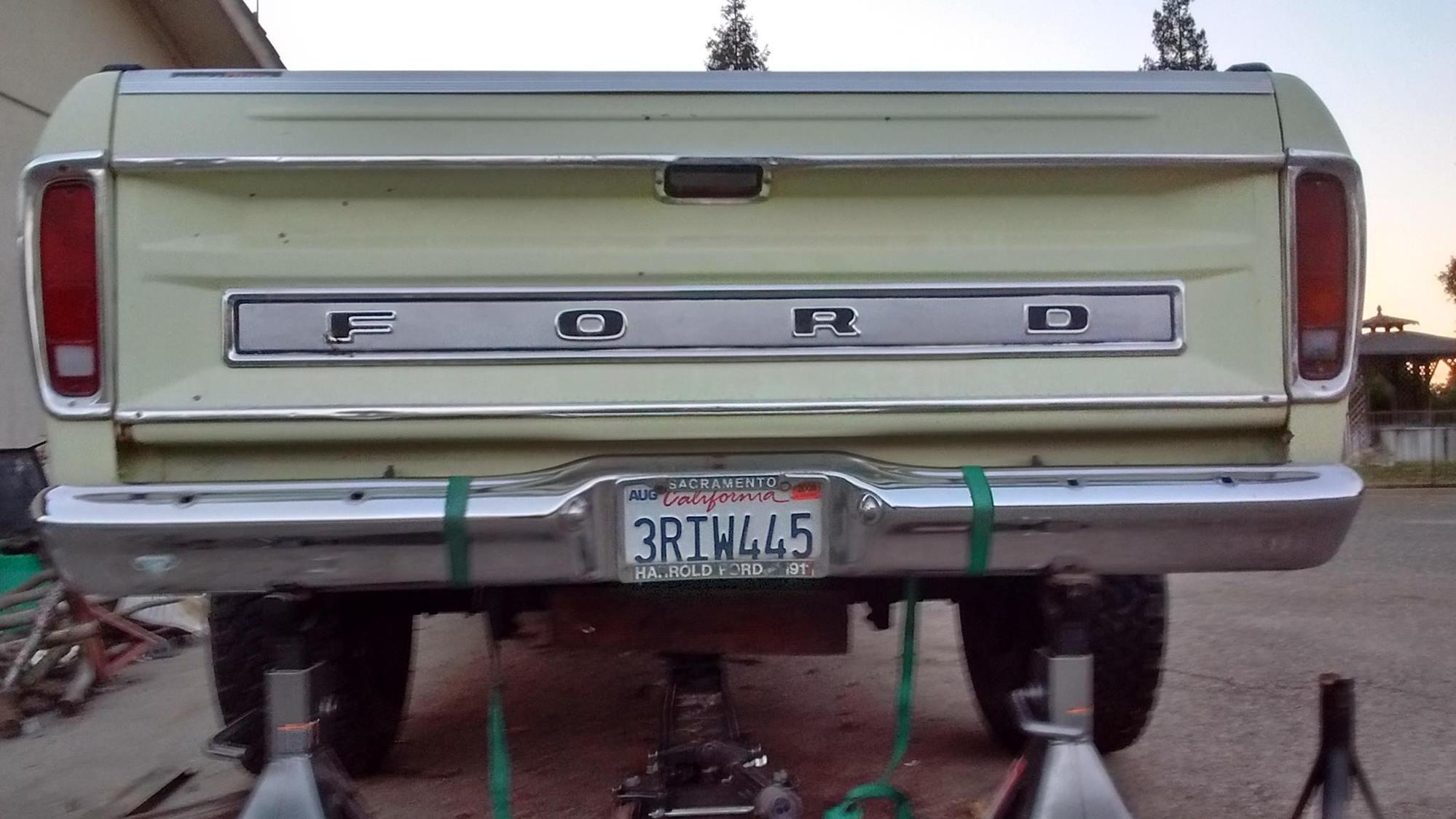 Diy Rear Contour Bumper Brackets Ford Truck Enthusiasts Forums