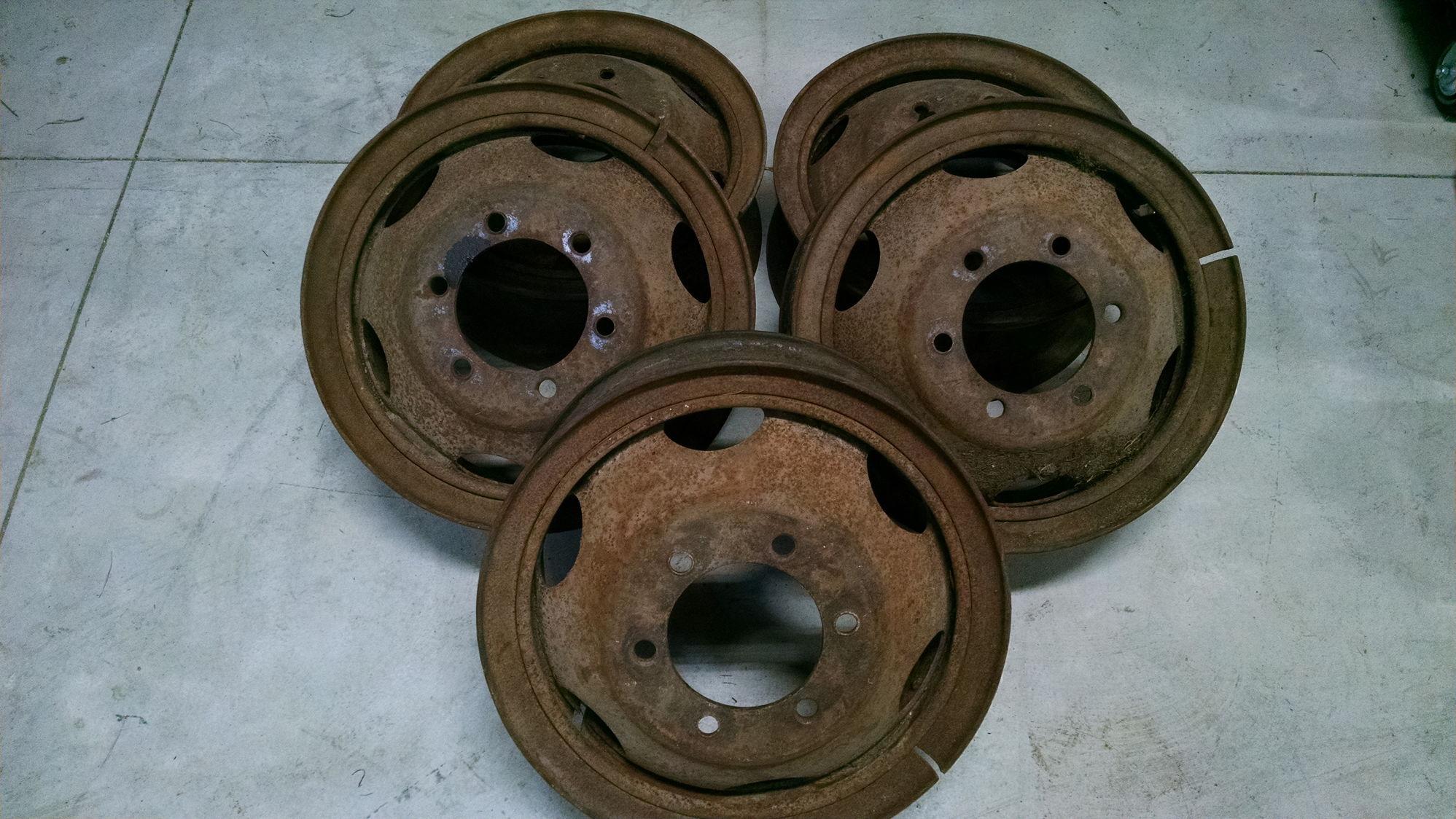 Snap Ring Wheels