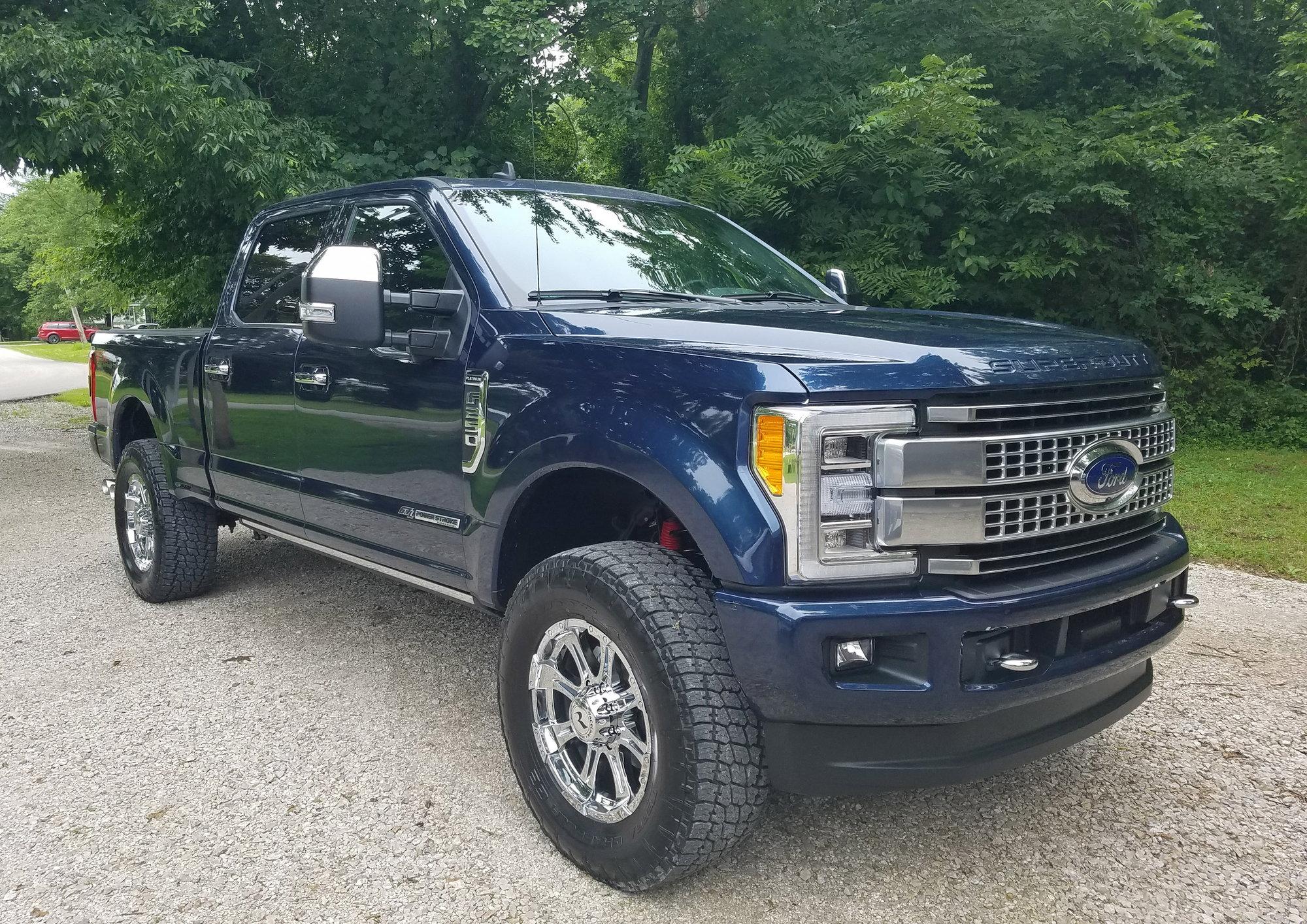 f250 lifted ford trucks 37s truck