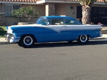Our 56 Ford Victoria