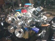 El Guapo motor installed