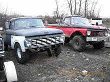 that truck on the left is my trucks evil twin.