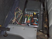 Custom Electrical Console