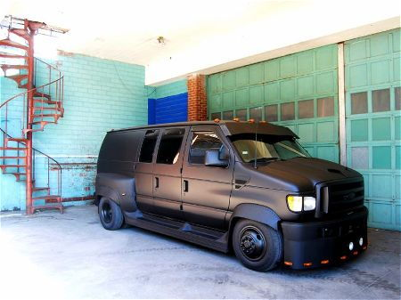 Any lowered vans out there - Ford Truck Enthusiasts Forums
