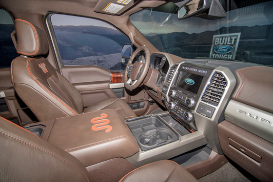 king ranch interior king ranch leather ford truck enthusiasts forums 930