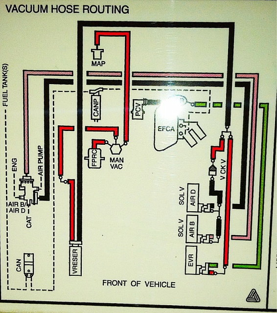 1995 F150 4 9 Vacuum Diagrams