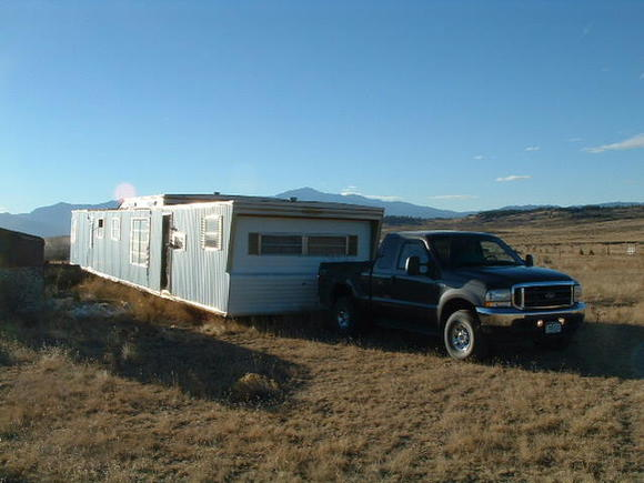 Hooking up to a mobile home back in '03 =)