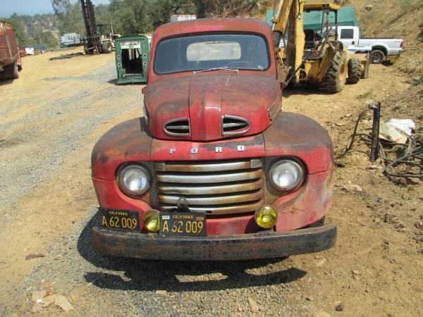 Modesto California Craigslist 1948 F4 For Sale Ford Truck