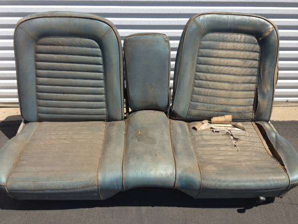Awe Inspiring 1965 F100 Bench Seat Rare Split Bench Mustang Seat Ford Machost Co Dining Chair Design Ideas Machostcouk