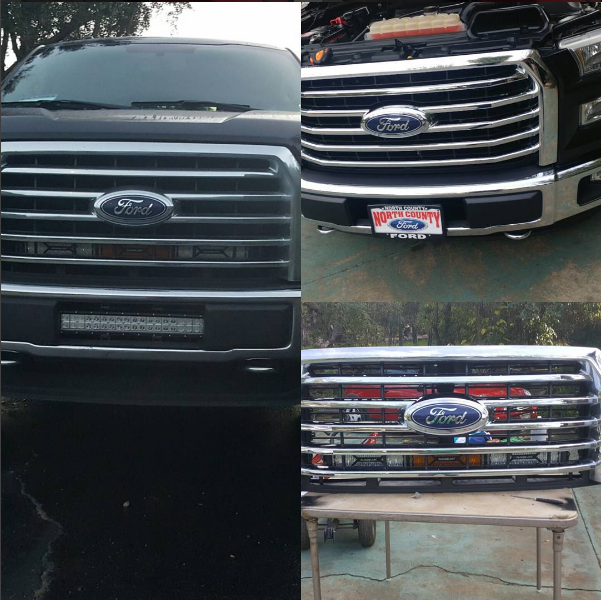 Led Light Bars Guide For 2004 2008 F150 Ford Truck
