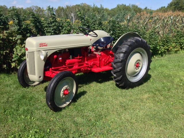 1956 Ford 640 Tractor Fenders : Grandpa s f restore page ford truck
