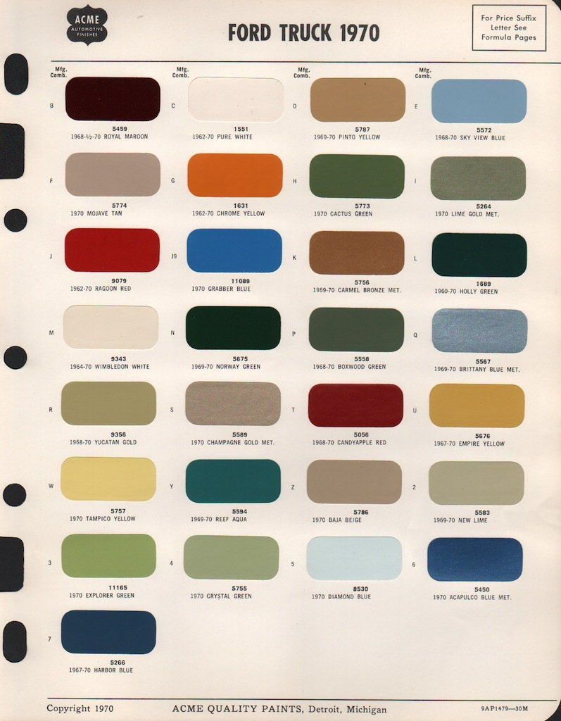 1960 lincoln wiring diagram 1970 ford truck color chart barma programasincreditos org  1970 ford truck color chart barma