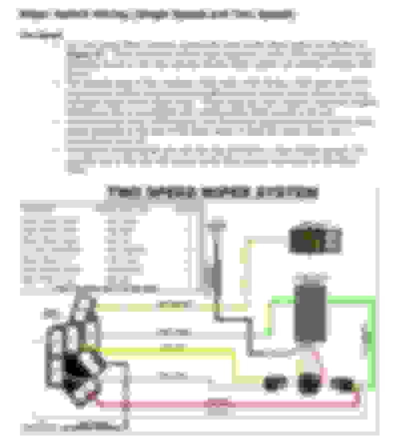 windshield wiper motor wiring ford truck enthusiasts forums 1966 El Camino Wiring-Diagram