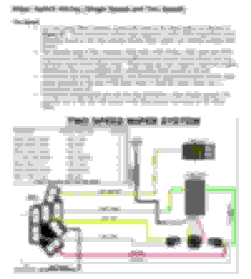 Hot A Windshield Wiper Motor Wiring - Wiring Diagram 500 Wiper Motor Schematic on wiring harness schematics, door handle schematics, clock schematics, starter motor schematics, electrical motor schematics,